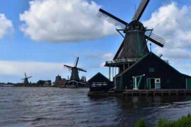 オランダ観光(キューケンホフとザーンセスカンス風車村)