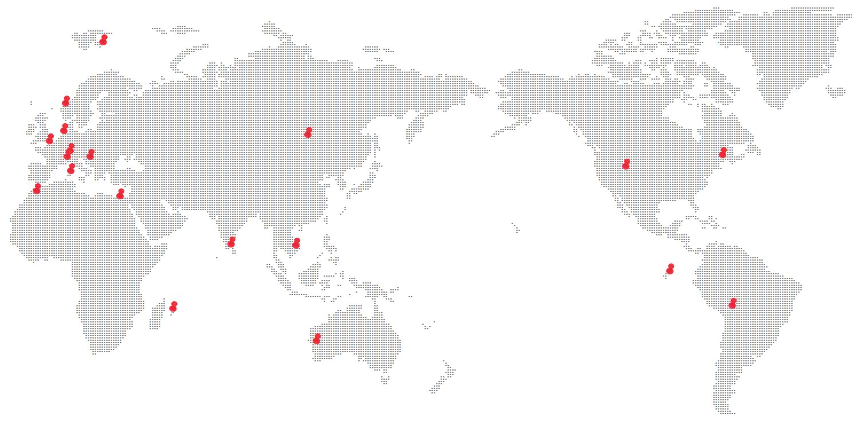 世界一周旅行のルート決め方~まずは、行きたい場所をピックアップ!